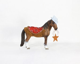 Custom Western Horse -painted western, cowgirl, birthday decor & cake topper