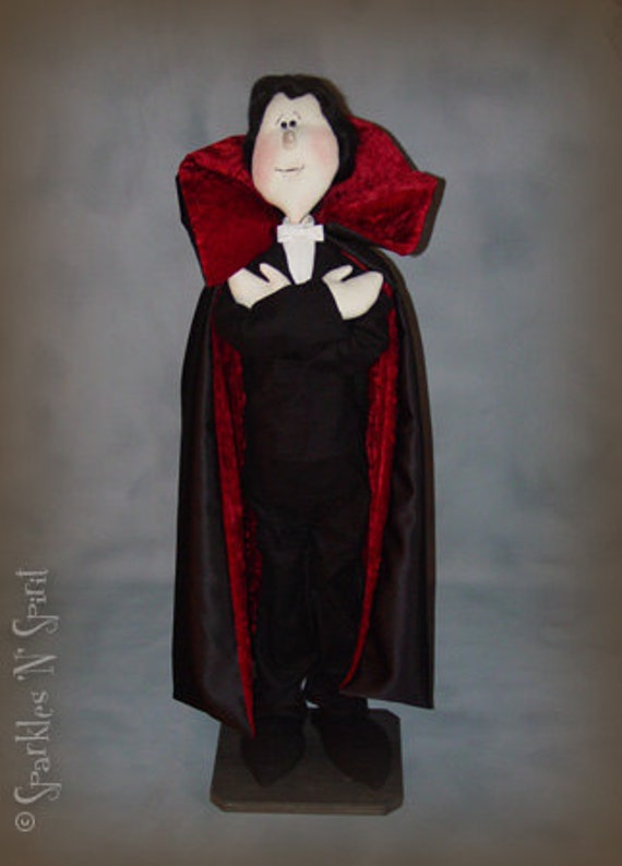 "Pattern: The Count - 39"" Halloween Dracula"