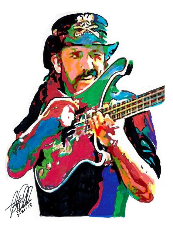 Lemmy Motorhead Hawkwind Bass Guitar Player Bassist Speed