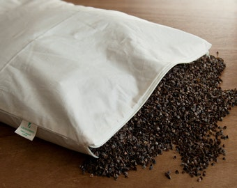 Organic Buckwheat Pillow - 40 x 60cm.