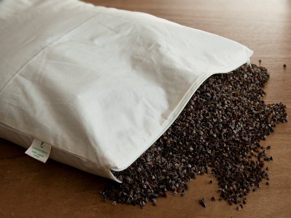 Organic Buckwheat Pillow 40 X 60cm