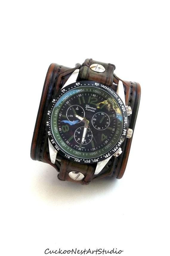 leather cuff wrist leather s