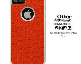 The Red Jersey Skin For The iPhone 4-4s or 5-5s Otterbox Commuter Case