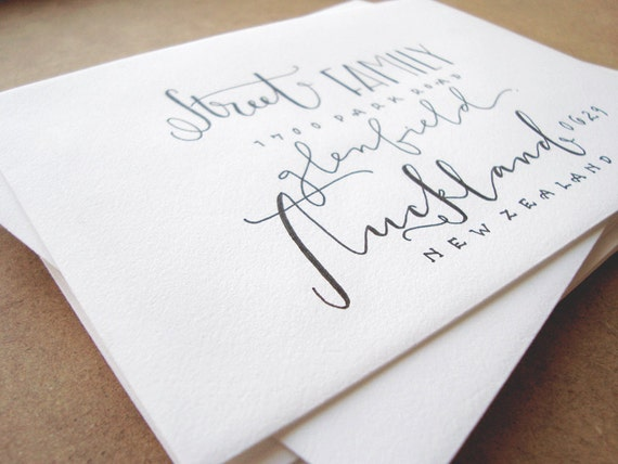 hand lettered envelopes unavailable listing on etsy 13874 | il 570xN.572687455 8jpw