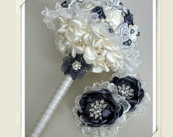 Lovely Ivory Wedding Bouquet