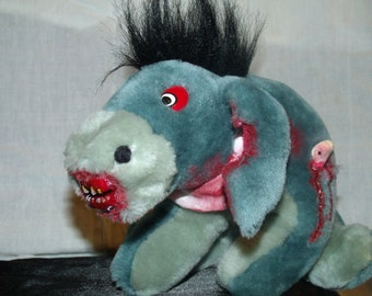 Scary Plush Zombie Doll