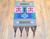Vintage Ethnic Indian Wallhanging Wall Art