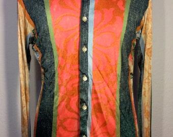 FREE  SHIPPING  1970's  Designer Giancarlo Shirt