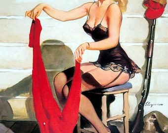 1950's Vintage Pin-Up Girl Poster 14