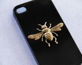 Bee iPhone 7  Case Animal iPhone 7 Case iPhone 7 Plus Bees Black iPhone 7  Cover Phone Case iPhone 7 Gold Case s Smartphone Cover