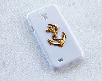 Nautical iPhone 7 Case Anchor iPhone 7 Cases Vintage Gold White Nautical Phone Case for iPhone 6s Plus  White iPhone 7 Case