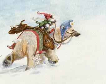 The Polar Bear Express