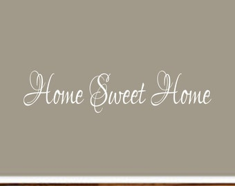 Home Sweet Home Decal #4