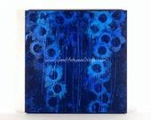 Blue Abyss Original Abstract Art Canvas, Original Painting, Modern Art, Fine Art, Blue Painting, Framed Canvas, Original Canvas, Blue Art