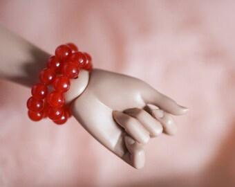 BJD MSD Ruby Jade Bracelet