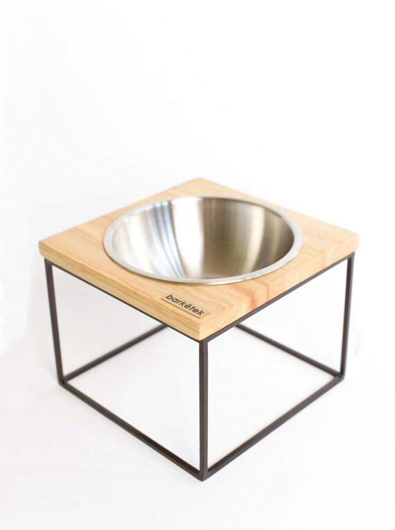 "Midcentury modern design dog bowl - size medium ""M-MOD"""