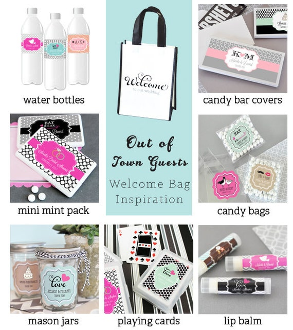 Destination Wedding Welcome Bags