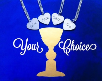 Shadowhunter Fandom Silver Pendants - Jace, Alec, Will & Jem - Inspired by TMI and TID - 4 Options