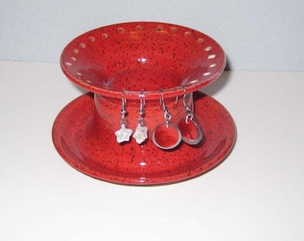 Red Jewellry Holder