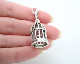 Build Your Own Bracelet ~ Birdcage Charm
