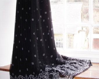 Vintage UK 14 US 10 Eur 42 floor length skirt by Condici