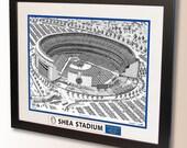 Shea Stadium Art, former home of the New York Mets