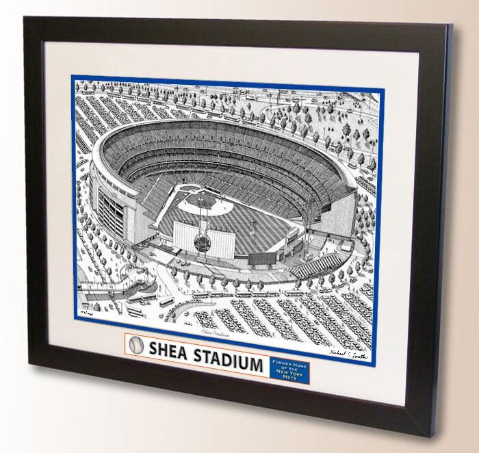 Shea Stadium Art Former Home Of The New York Mets