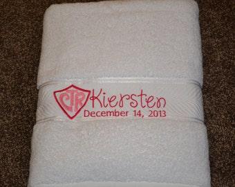 CTR Baptism Towel