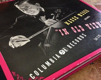 "Vintage Marek Weber ""In Old Vienna"" 78 4-record set"