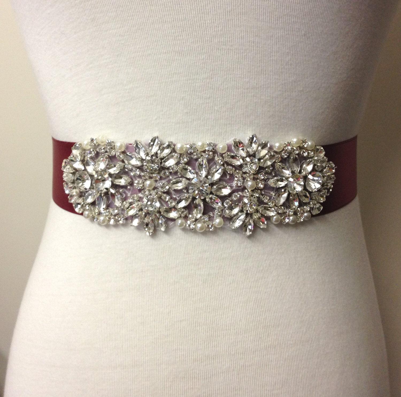 Crystal Belts | M U0026 F Belts Ladies Square Crystal Black Style ...