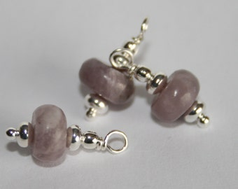 "BC-031 ""Lilac Aroma"" beaded charm"
