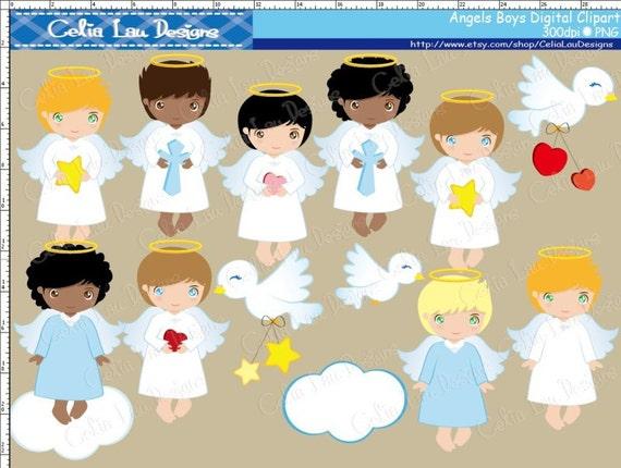 Angel Boy Digital Clipart Angel Clipart Angel Clip Art