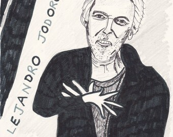 Alejandro Jodorowsky Digital Print