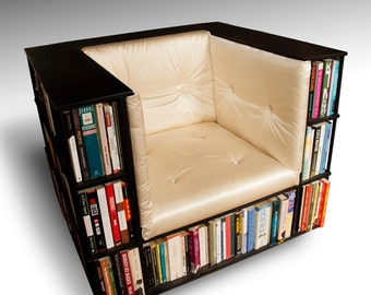 Library Chair - Luxury Club Chair - Bookcase Chair - Made to Order