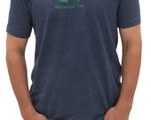 "Men's Short Sleeved Golf ""Recycled Tee"" T-Shirt 
