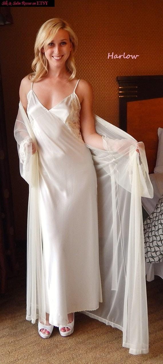 En vente nwt magnifique d shabill s de mari e robe de for Robe pour nuit de noces