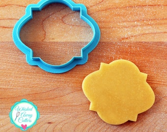 The Miss McGoo 2 Plaque Cookie Cutter and Fondant Cutter