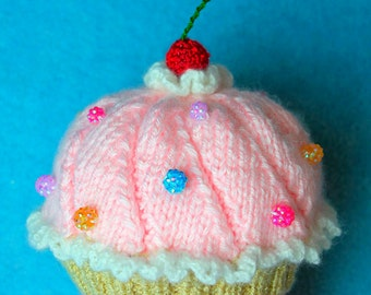 Cupcake hat knitting pattern Etsy