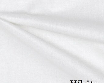 Roc-lon Rain-No-Stain Drapery Lining - White or Ivory - Home Decor Fabric by the Yard