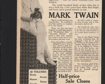 the life and works of mark twain Samuel langhorne clemens, also known as mark twain, was a major american  writer  sam spent his childhood in this port village nestled on the banks of the.