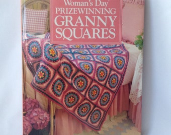 Book Woman's day prizewinning granny squares