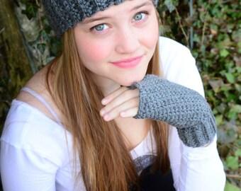 Instant Download Crochet Pattern - Stretchy Headwrap Earwarmer