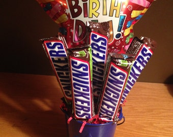 Snicker Lovers Customizable Candy Bouquet! Great for ...