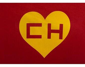 """El Chapulin Colorado. Says """"No Contaban con mi astucia"""" on the back! Red T-Shirt"""