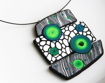 Geometrical necklace
