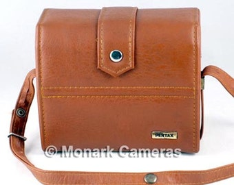 Small 1970s Pentax Shoulder Bag for 110 Camera & Lens System. Perfect for Small Digital Cameras.