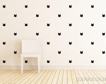 Cats Vinyl Wall Art Decal