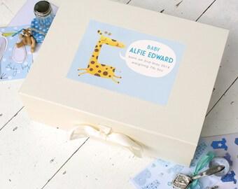 Personalised Baby Keepsake Box (2 Designs Available)