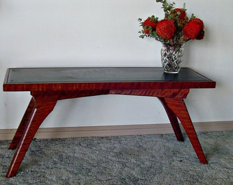 Red Gum and Slate Table