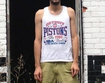 1988 DETROIT PISTONS Eastern Conference Champs Tank Top